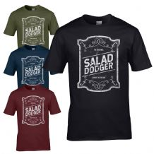 The Original Salad Dodger T-Shirt - Living The Dream Tee Joke Mens Gift Top